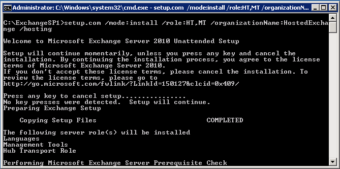 Yusuf Ozturk » Hosted Exchange 2010 Setup Guide – Part 1