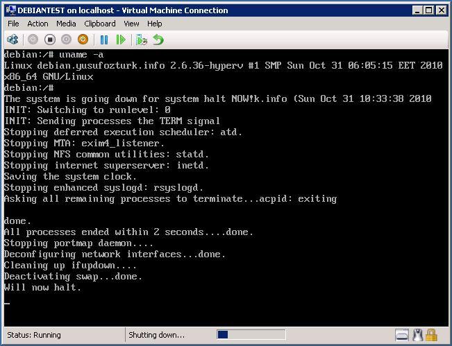 Yusuf Ozturk » Debian 2 6 36 kernel upgrade for Hyper-V