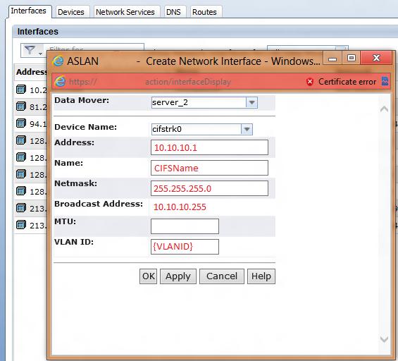 Yusuf Ozturk » How to create a CIFS share on EMC VNX?