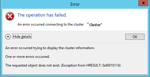 Yusuf Ozturk » Fixing WMI issues on Windows Server 2012